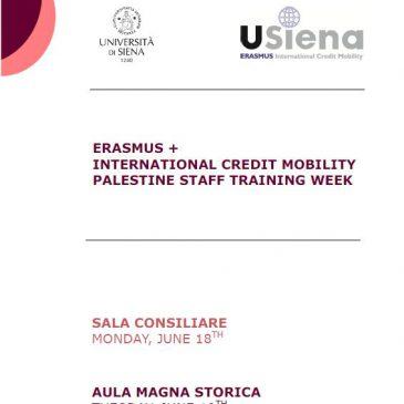 Palestine Staff Training Week